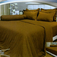 SPREI VALLERY QUINCY 180 BANTAL 4 KING NO1 - EMBOS POLOS COFFEE