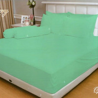 SPREI VALLERY QUINCY 180 X 200 X 30 KING - EMBOS POLOS OPAL