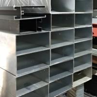 Hollow Aluminium 38 x 76 mm x 6 meter u/ Jidar - Warna: Silver (MF)