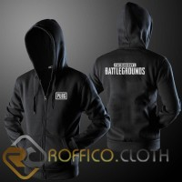 Jaket Hoodie Zipper Game PUBG Battleground - Roffico Cloth