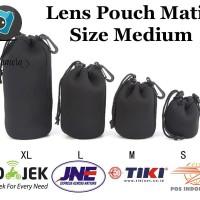 Sarung Lensa Matin Neoprene Lens Pouch LensPouch Ukuran Medium (M)