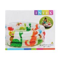 Kolam Renang Bayi Dino 3Ring Intex 57106 uk.61x22cm