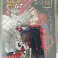 kartu dragon ball super battle tokubetsuden vegeta ssj bandai japan