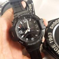 Jam Casio G-Shock GA-1000 Full Black Original BM Kompas Aktif