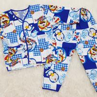 Baju Tidur Anak Bayi Piyama Anak Bayi Baju Harian Bayi Doraemon