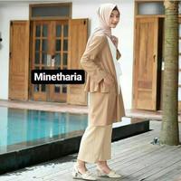 Outer wanita lengan panjang hijab kekinian baju murah