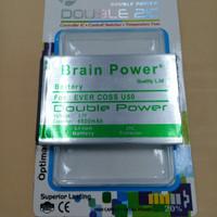 Baterai Evercoss U50 / Double Power / Brain Power / Ori / battrey hp