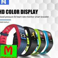 Xiaomi SmartBand P4 Jam Tangan Hp Canggih pintar keren Color Display