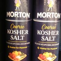 MORTON COARSE (KOSHER) SALT GARAM 453GR