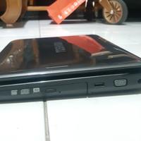 Laptop Toshiba Satellite L645 Core i3, mulus 97% tdk ada penyok,lecet