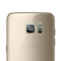 Samsung S7 Flat - S7 Edge screen guard kamera CAMERA TEMPERED GLASS