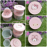 Set Toples Snack / Permen / Kue Hello Kitty Twin Stars My Melody isi 2