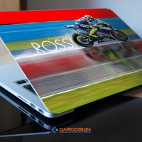 Garskin Laptop Acer 12 Inch Valentino Rossi Custom (Luar Saja)