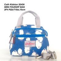 Tas Wanita Cath Kidston Selempang Mini Four Zipped Bag 3243 - 7