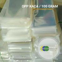 Plastik Kaca Opp Bening per 100gram
