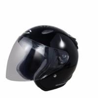 Helm Cargloss YCN New Oakley Deep Black Automotor