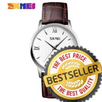 JUAL Jam Tangan Pria SKMEI Original 9130 Vintage Design Analog Watch
