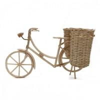 Kerajinan Rotan Sepeda Keranjang Kangkung Versi 2 - Wanita 28x18x18 cm