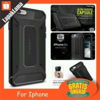 Turun Harga SA Case Spigen Rugged Capsule iPhone 6S 6G 6 6 Plus 7 Plu