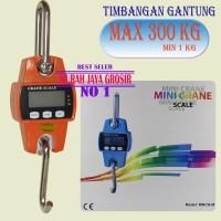 Timbangan Digital 300 KG Mini Crane Scale Timbangan kapasitas Besar
