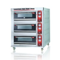 FOMAC BOV-ARF60H Gas oven (3 Deck 6 Tray) FREE ONGKIR JAKARTA ONLY