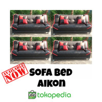 Sofa Bed Aikon (Sofa Santai) ! Jakarta Barat