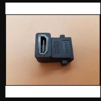 L Shape HDMI Converter Female to Female