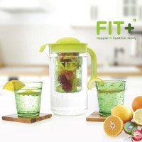 teko Fit + Infuser Jug Hijau - Happier & Healthier Family