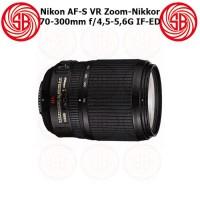 Lensa Nikon AF-S 70-300mm F4,5-5,6G VR IF-ED Zoom-Nikkor ; Nikon Tele