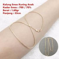 kalung emas kuning 1 60 gram