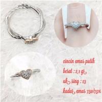 cincin emas putih 2 1 gr