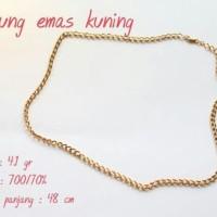 kalung emas kuning 4 1 gram