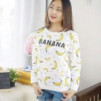 Harga a530 banana pakaian kemeja baju busana kaos atasan untu   Pembandingharga.com