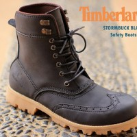 SEPATU BOOTS UNTUK PRIA TIMBERLAND STORMBUCK SAFETY BLACK 7b525f36f8