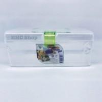 Kotak Plastik/ P3K / Alat Tulis / Obat / Green Leaf 4131