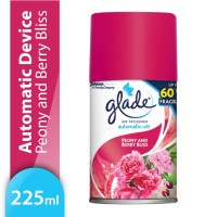 Glade Matic Spray Peony And Berry Bliss Refill 146gr (PULAU JAWA ONLY)