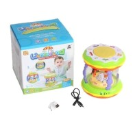 Mainan Wonderland USB Merry Go Round Music Drum Besar + USB