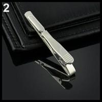 Murah Penjepit Dasi / Tie Clip Simple Necktie - Aksesoris Pria Mewah