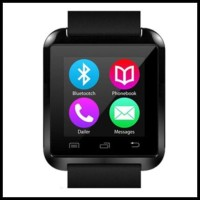 Murah Smartwatch U Watch U8 - Red Uwatch Smart Watch - Merah ! ! ! !