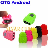Hot Promo Usb Otg Robot Adapter Android Connector Micro Usb Smart