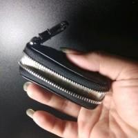 Gantungan kunci mobil motor dompet stnk kulit anyaman asli RS165 NEW