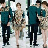 Terbaru Cp Pxxda Dress Cp Dress Kipas Couple Batik Bermutu