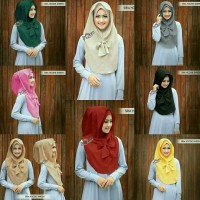 Model baru hijab instan / kerudung /hoodie shiren Original