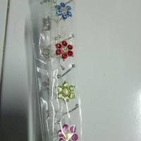 jepit turki bunga hiasan jilbab hijab muslimah