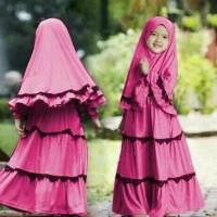 Dijual Baju Muslim Anak Hijab Zema Kid Pakaian Gamis Stock Terbatas