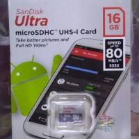 Memory memori hp micro Sd card microsd sandisk  video anak muslim 16GB