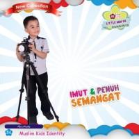 Baju Koko Anak Bahan Kaos Murah Little Mutif Men LM 05