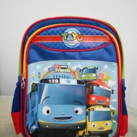 Tas ransel anak TK Tayo the little bus