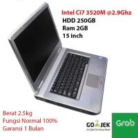 Laptop Nec VersaPro VD-E VK29HD-E Ci7 3520M @2.9Ghz 2Gb 250Gb nb314