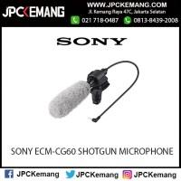 SONY ECM-CG60 SHOTGUN MICROPHONE Murah